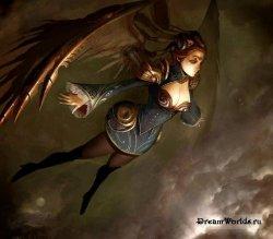 Рисуем фантастические крылья