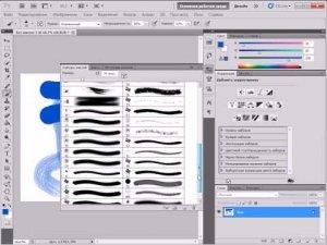 Кисть и карандаш в Adobe Photoshop