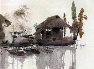 Искусство китайской живописи и каллиграфии.